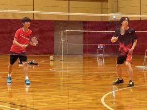 バドミントン部 令和2年度奈良県高等学校バドミントン選手権(3年生)大会