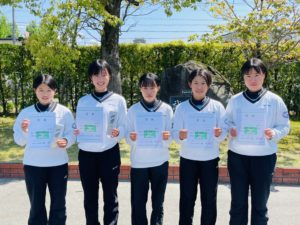 ソフトテニス部 全国高校総合体育大会・全日本選抜大会予選 受賞