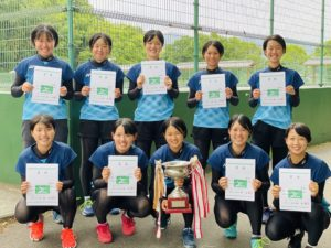 ソフトテニス部 第76回国民体育大会ソフトテニス少年の部奈良県第2次選考会 受賞