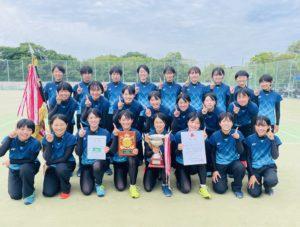 ソフトテニス部 奈良県高等学校選手権大会 兼 全国高等学校総合体育大会 優勝