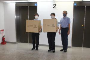 情報技術部 奈良市社会福祉協議会へ寄贈