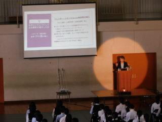 2021年度 輝く女性シリーズ vol.14 ~生徒対象講演会~