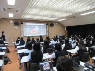 台湾のShu Guang女子高校とのオンライン交流